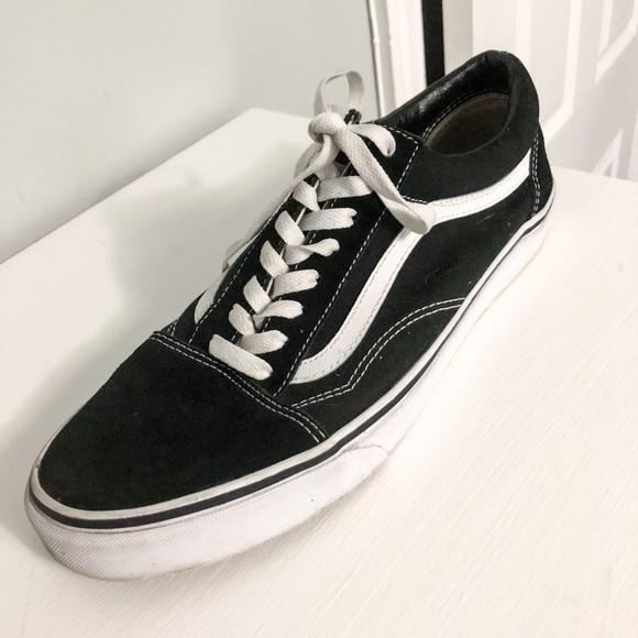 Vans Old Skool Black/White Size 12 Mens